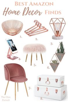 Best Gold Home Decor Accents: the best gold ideas for a beautiful home! - - Best Gold Home Decor Accents: the best gold ideas for a beautiful home! Whether you prefer rose gold home decor or gold house decor, we've selected th. Cute Dorm Rooms, Cool Rooms, Cheap Home Decor, Diy Home Decor, Trendy Home Decor, Home Decor Items, House Decoration Items, Home Goods Decor, House Decorations