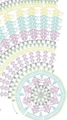 Sakura Cabled Mandala Pattern By Tatsiana Kupryianchyk Crochetmandalapattern - Camlik - Diy Crafts - knittingo Scrap Yarn Crochet, Crochet Doily Rug, Crochet Doily Diagram, Crochet Dollies, Crochet Mandala Pattern, Crochet Circles, Crochet Tablecloth, Crochet Stitches Patterns, Crochet Round