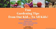 My son has created a little handbook to show kids how fun gardening can be.and it's absolutely FREE.Now kids can also get a great deal on Black Friday.
