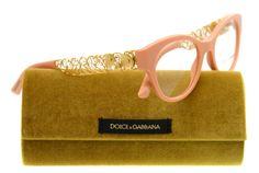 New Dolce & Gabbana Eyeglasses Women DG 3184 Pink 2585 DG3184 50mm #DolceGabbana