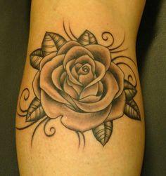 Pink/Grey Rose
