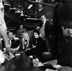 Olga SCHOBEROVÁ, Jana BREJCHOVÁ, Oldřich LIPSKÝ XXI. MFF, film, festival 1978 Naše nejkrásnější herečky