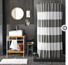 grey and white stripes. yes.