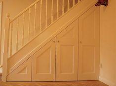 60 Genius Storage Ideas For Under Stairs Cupboard Door Design, Layout Design, Stairway Storage, Home Gym Basement, Basement Ideas, Laundry Nook, Loft Stairs, Basement Stairs, Fixer Upper House