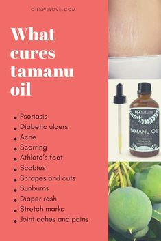 Pure tamanu oil benefits for skin: meet the miracle! Use tamanu oil to cure acne, scarring, psoriasis, diaper rash, stretch marks and many more skin problems Scar Treatment, Hair Treatments, Bad Acne, Tamanu Oil, Natural Beauty Recipes, Diaper Rash, Skin Care, Essential Oils, Healing