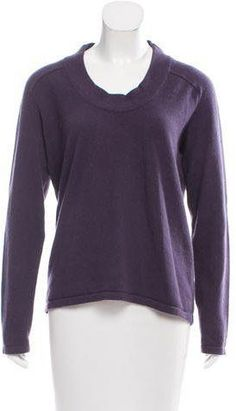 Bottega Veneta Cashmere Scoop Neck Sweater