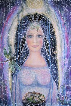 Goddess of anticipation - Lilaviolet