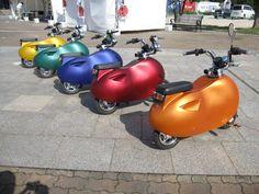 Japanese ride: motor ponco