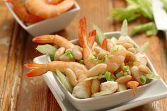Salad with shrimp and cannellini | Ricetta Insalata di cannellini e gamberetti | Cirio Cuore Italiano