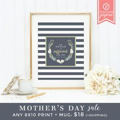 Mother's Day Gift Set Sale Any 8x10 Print by JustifiedPaperie