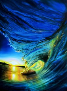 Stained Blue Glass by Ashton Howard ocean wave paintingAmazing! Stained Blue Glass by Ashton Howard ocean wave painting Waves Photography, Landscape Photography, Nature Photography, Beautiful Ocean, Amazing Nature, Beautiful Scenery, Ocean Wave Painting, Ocean Wallpaper, Photo D Art