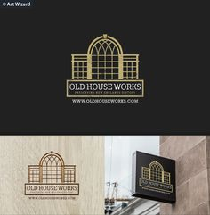 Old House Works (Company restoring historical w... Personable, Masculine Logo Design by Gr4pika