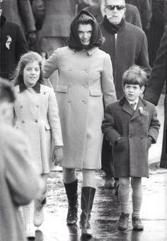 Jackie with Caroline and John