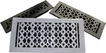 Tudor Aluminum Heat Register from Shop 4 Classics beautiful but the wrong sizes for us, I wonder if we can change the sizes