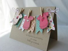 Crafty Girl Designs: Welcome Lila Grace! - Crafty Girl Designs: Welcome Lila Grace! Baby Girl Cards, New Baby Cards, Baby Scrapbook, Scrapbook Cards, Tarjetas Diy, Karten Diy, Baby Shower Cards, Shower Gifts, Baby Crafts