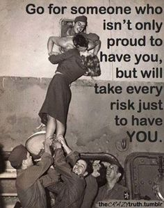 Forget the risk and take the fall, if he's what you want, then it's worth it all...