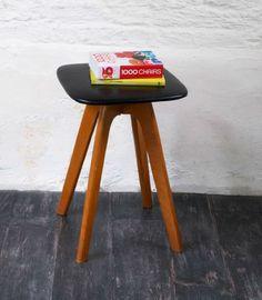 Retro Vinyl Stool - Bring It On Home