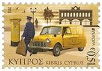 "Cyprus Europa 2013 stamps - ""Vintage Post Office Van"" issue date 2 May 2013"