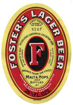Fosters Brewery, Lager Beer, Melbourne, Australia