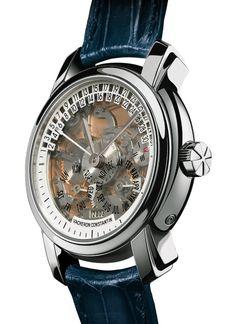 Vacheron Constantin's Platinum Skeleton Minute Repeater