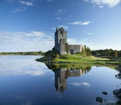 Ireland  Dungaire Castle at Kinvara in co Galway