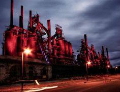 7 Abandoned Wonders of Commercial   Bethlehem Steel Factory, Pennsylvania