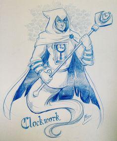 "momokarp: "" I miss this show! And I miss Clockwork! """