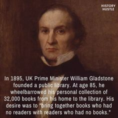 10 Unbelievable History Facts You Really Need to See William Gladstone History Hustle fact History Major, British History, Asian History, Tudor History, Ancient History, Art History, History Medieval, History Quotes, Medical History