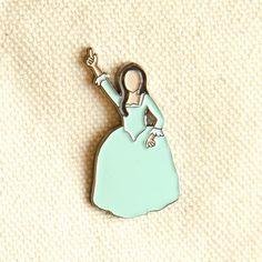 Hamilton Eliza Schuyler Sisters Soft Enamel Pin - Jewelry - Birthday Gift by 446bridges on Etsy https://www.etsy.com/listing/385844646/hamilton-eliza-schuyler-sisters-soft