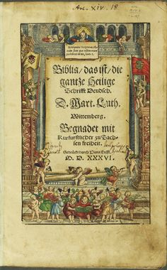 Lambeth Library's copy of Luther's translation of the Bible into German was used during the #Reformation500 service in the United Kingdom.