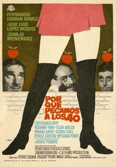 147.  MAC. Por qué pecamos a los 40. Dirigida por Pedro Lazaga. Barcelona: Gráficas Bobes, 1970.  #ProgramasdeMano #BbtkULL #Diseñadores #MAC#DiadelLibro2014