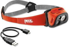 The built-in light sensor in the Petzl Tikka®️️ R+ headlamp automatically adjusts beam pattern and light output. #REIGifts