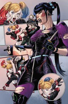 Punchline Faces Harley Quinn in New Batman Artwork Comic Book Characters, Comic Character, Comic Books Art, Comic Art, Batgirl, Batwoman, Comic Manga, Anime Comics, Manga Anime