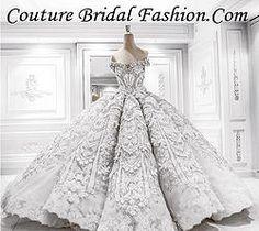 Amazing 3D floral beaded Wedding Dress train