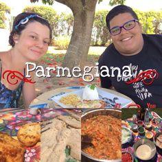 Parmegiana muito boaaa praparada pelo Gabriel!🍴  https://youtu.be/aimwvaEu8bo  #babicooking #parmegiana #parmegianadefrango #almoço #jantar #friends #irmaos #cebola