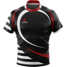 UK Manufactured Rugby Shirts from Scorpion Sports printed in the UK within  2 weeks. Chapinha 0e630092e0831