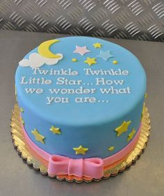 Twinkle Twinkle...I think I just found the cake for whenever I happen to have a kid.