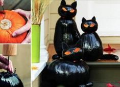 DIY Halloween decorations are a perfect way to welcome the new season. These Halloween decor ideas are easy to make happen, and they're extremely inexpensive! Halloween Designs, Halloween Bark, Creepy Halloween Decorations, Outdoor Halloween, Couple Halloween Costumes, Halloween Crafts, Spirit Halloween, Happy Halloween, Manualidades Halloween