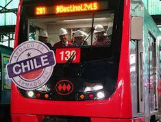 Urban Tour Chile: Transporte Publico en Santiago Conveyor System, Public Transport, Parks, Rolling Stock