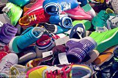 Incaierarea cu pantofi