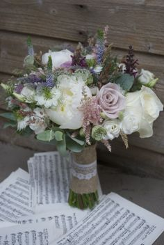 Bridal bouquet at The Barn at Bury Court (Berry Court Barn) Farnham Surrey designed and created by Hannah Berry Flowers www.hannahberryflowers.co.uk