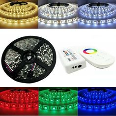 5M Waterproof  SMD 5050 RGB 300 LEDs Flexible Strip Light+ 2.4G Touch Control +RGB Controller DC12V