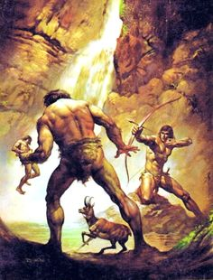 Tarzan and the Ant Men / 1976 (Boris Vallejo)
