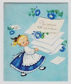 cute vintage card