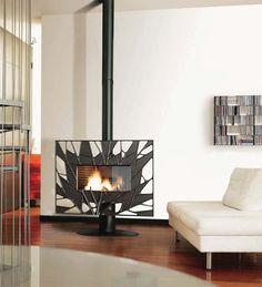 Invicta Oxo Cool Contemporary Multifuel Stove Fire Wood Burner 7 ...