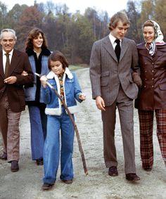 Monaco Royal family in 1978 - beautiful candid family photo