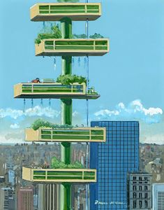 Vertical farming can