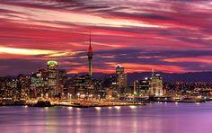 名所・史跡を訪ねて: ニュージーランド 「帆の街」と呼ばれるオークランドの景観