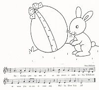 Liedje met tekenopdracht erin
