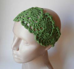 HeadBand Crochet Headband   Hair Fashion Accessories by ARTcrochet, $16.00